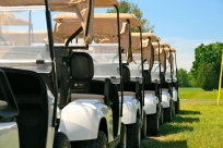 Brand new carts await Beaver Creek Golfers